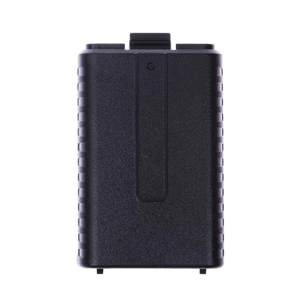 6 AAA Extended Battery Case Storage Box For Baofeng UV5R 5RA  B  C  D 5RE Plus Two Way Radio Charger Case