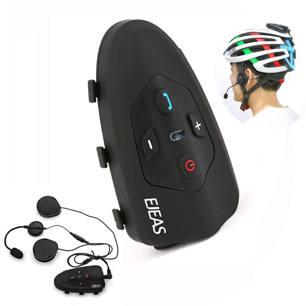Здесь продается  2017 Ejeas Eagle 2 Rider Cycling Interphone Bluetooth Motorcycle Helmet Headset 120km Full Duplex Talking Intercom   Автомобили и Мотоциклы