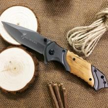 Folding Knife 440C Titanium Coating Blade Pocket Survival Knifes Hunting Tactical Camping Knives Outdoor Tools