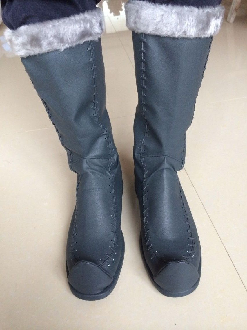 New Handcrafted Adult kristoff Cosplay Costume Boots Shoes