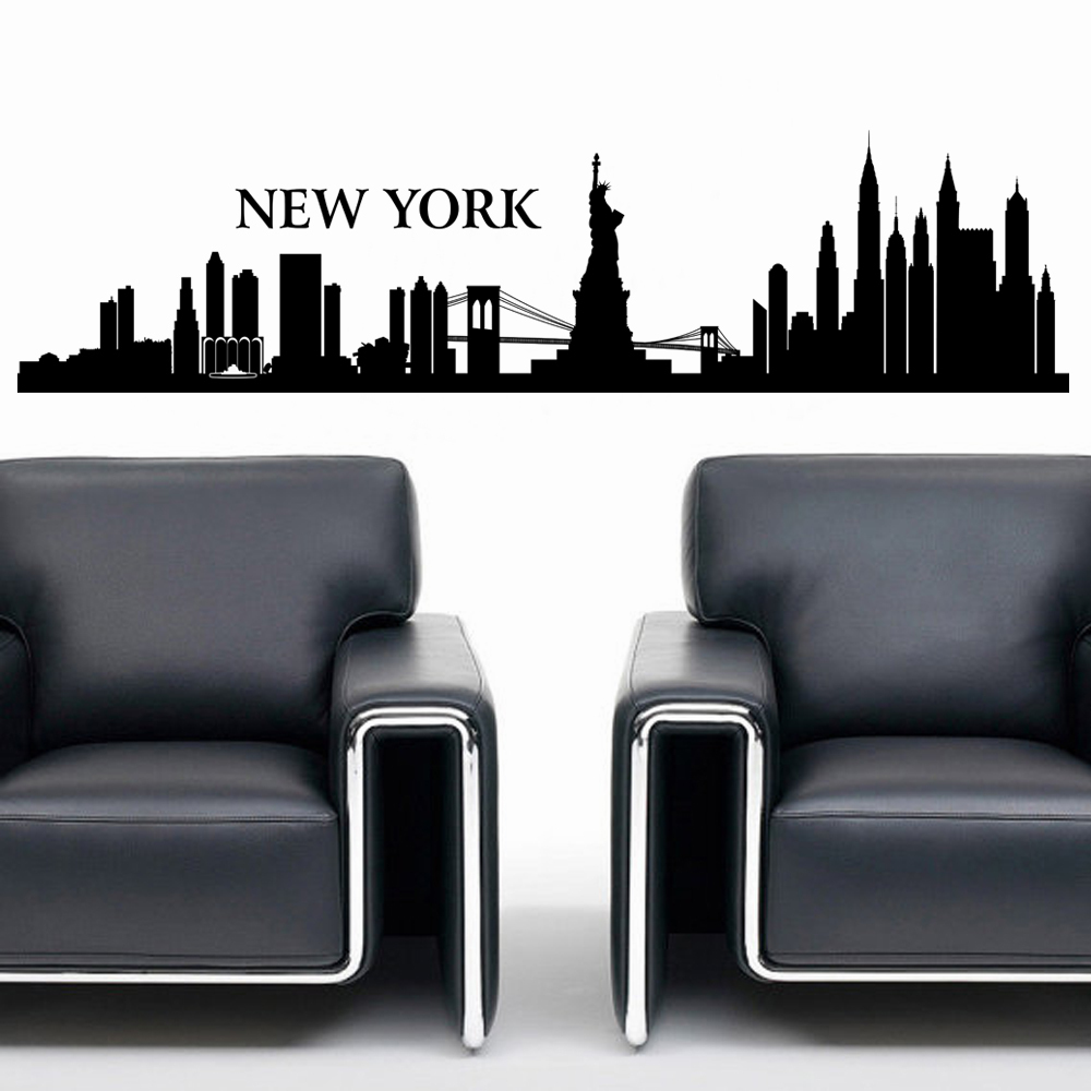 Bezaubernd New York Wandtattoo Ideen Von City Nyc Skyline Stadtbild Travel Vacation Ziel