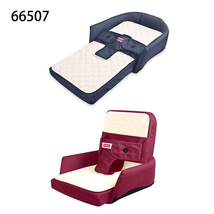 2 In 1 Multifunctional Newborn Compartment Portable Folding Crib Child Folding Chair Baby Bend Protable Set Chair