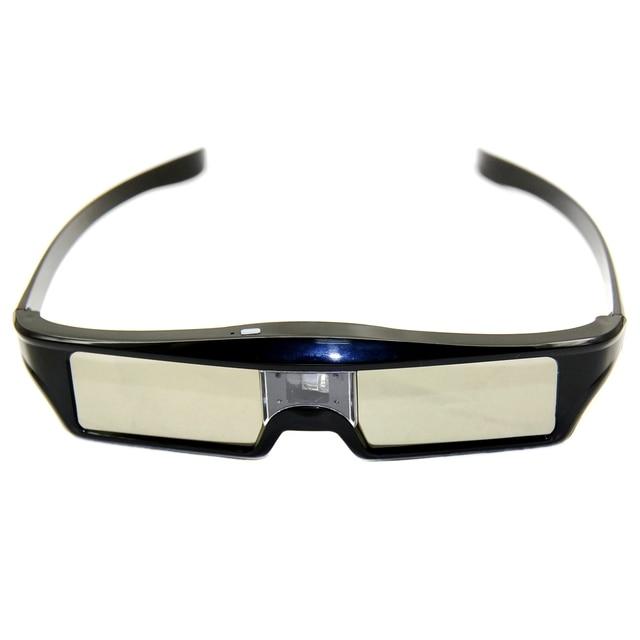 V1 Rechargeable 3D Glasses Active 3D Shutter Glasses For DLP Link Projector Mitsubishi Samsung Acer BenQ Dell Vivitek NEC Sharp