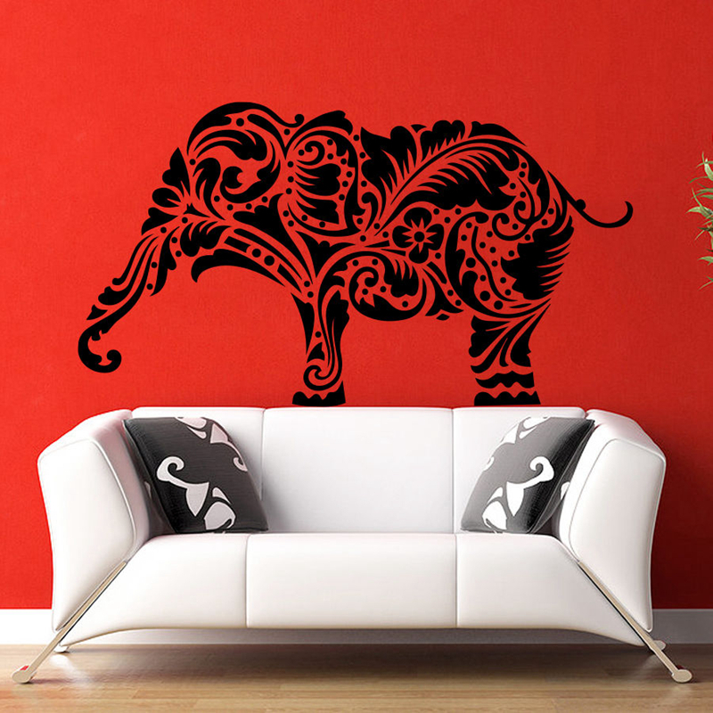 Buddha Quotes Namaste Wall Decals Yoga Mandala Wall Stickers For ...