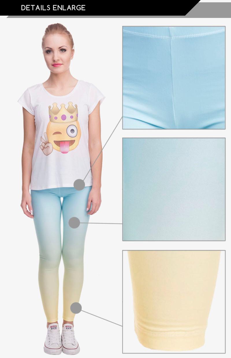 Yellow Printed Women's Slim Fit Leggings