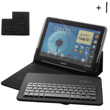 """9"""" 10""""Tablet Universal Wireless Bluetooth Keyboard Case For ASUS Lenovo Huawie 9"""" 10"""" Tablet Flip Leather Stand Cover+Stylus"""