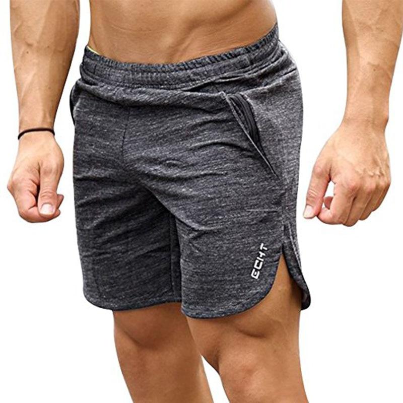 Shorts homens Esporte Ao Ar Livre Correndo Calças De Fitness Yoga Exercício  Profissional Calções de Jogging Respirável Elástica Calções Tranning 3194b03af86d2