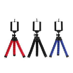 Image 2 - Trépieds trépied pour téléphone Portable Clip support de téléphone smartphone Monopode tripes stand pieuvre mini trépied stativ pour téléphone