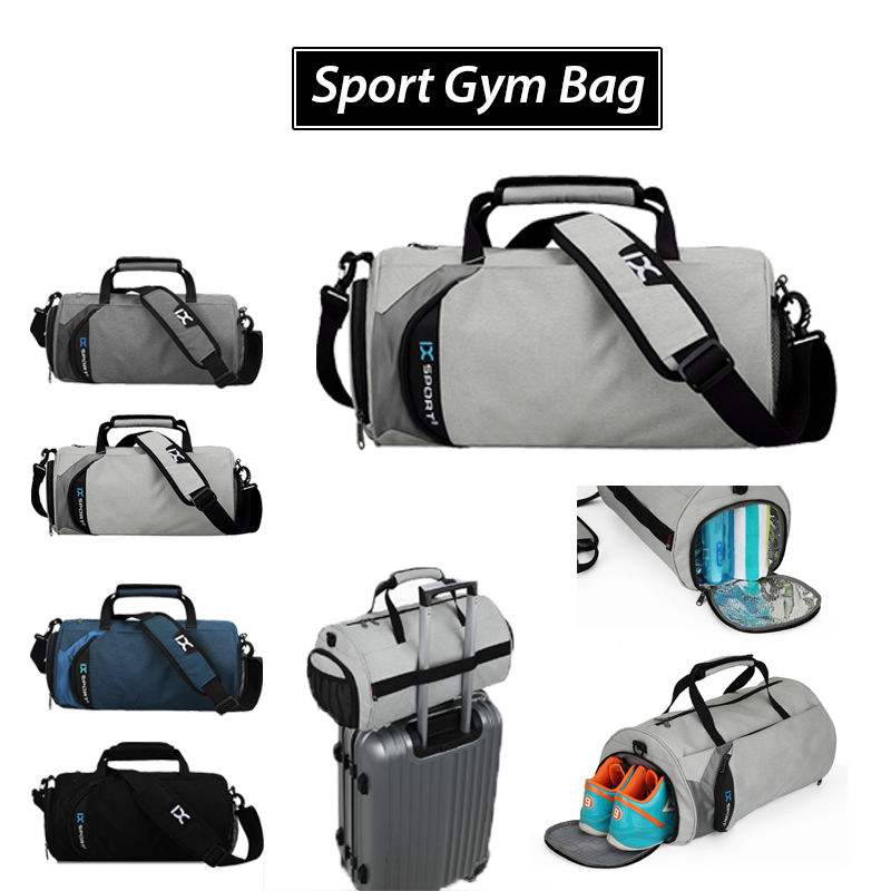 Top Quality Fitness Gym Sport Bags Men and Women Waterproof Handbag Outdoor Travel Camping Multi-function Bag outdoor washed canvas sport gym bags multi function handbag single shoulder bag men travel independent shoes duffle bags