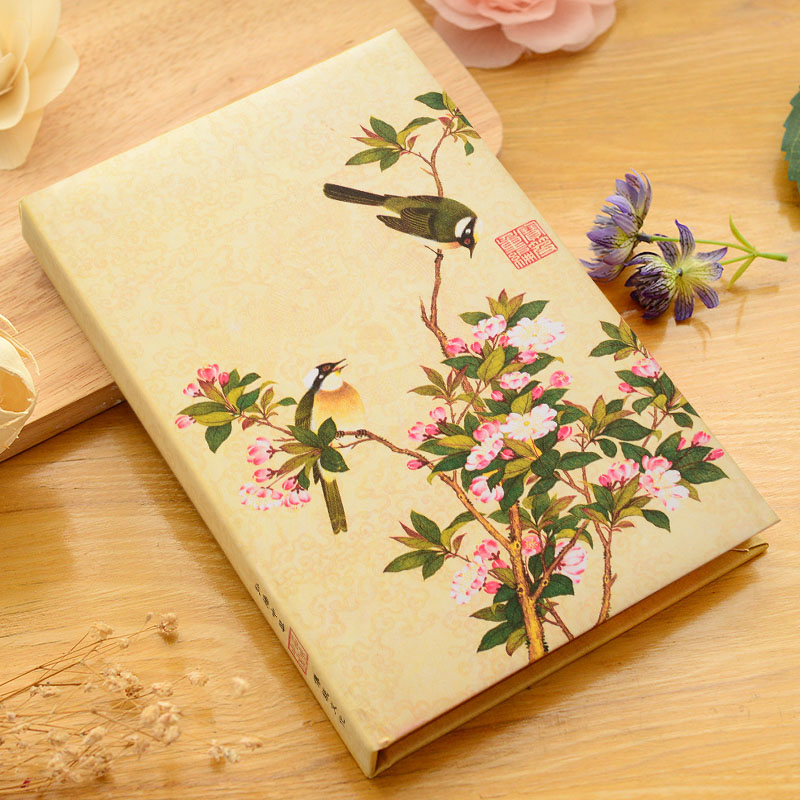 2017 A5 Vintage Chinese notebook stationery small fresh diary antique note book gift simple notepad agenda journal new harry potter vintage notebook diary book hard cover note book notepad agenda planner gift 2017 2018 2019 calendar gt025