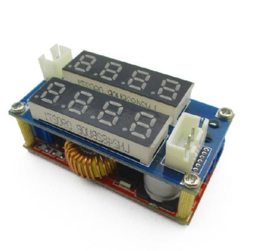 5A Adjustable CC/CV Display Step Down charge Module LED Panel Voltmeter Ammeter diy kit dc dc adjustable step down regulated power supply module belt voltmeter ammeter dual display