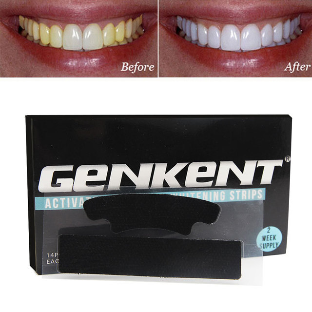 Image result for teeth black strips