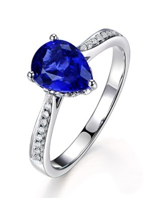 3 carat ring tanzanite diamant ring 925 sterling silver jewelry sapphire female ring US size from 4.5 to 9