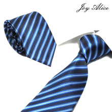 8cm Width Men Ties New Fashion Plaid Neckties Corbatas Gravata Jacquard Woven Slim Tie Business Wedding Stripe Neck For