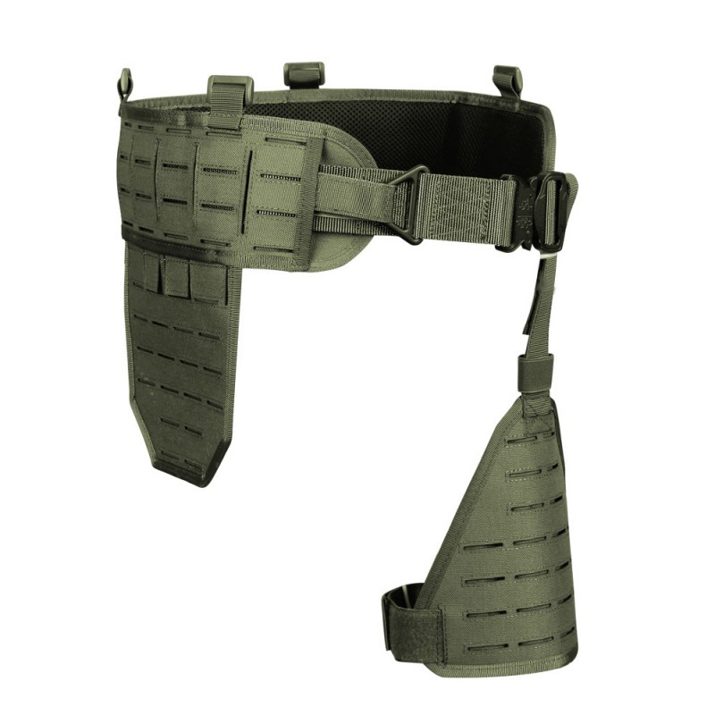 Outils d'extérieur Ultra-large 1000D Nylon élastique respirant rapide détacher ceinture abdominale étui porte accessoire de chasse - 4