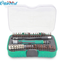 Ouneed Happy Home 45 in 1 screwdriver set of mobile phones laptop digital maintenance demolition tools 1 Piece(China)