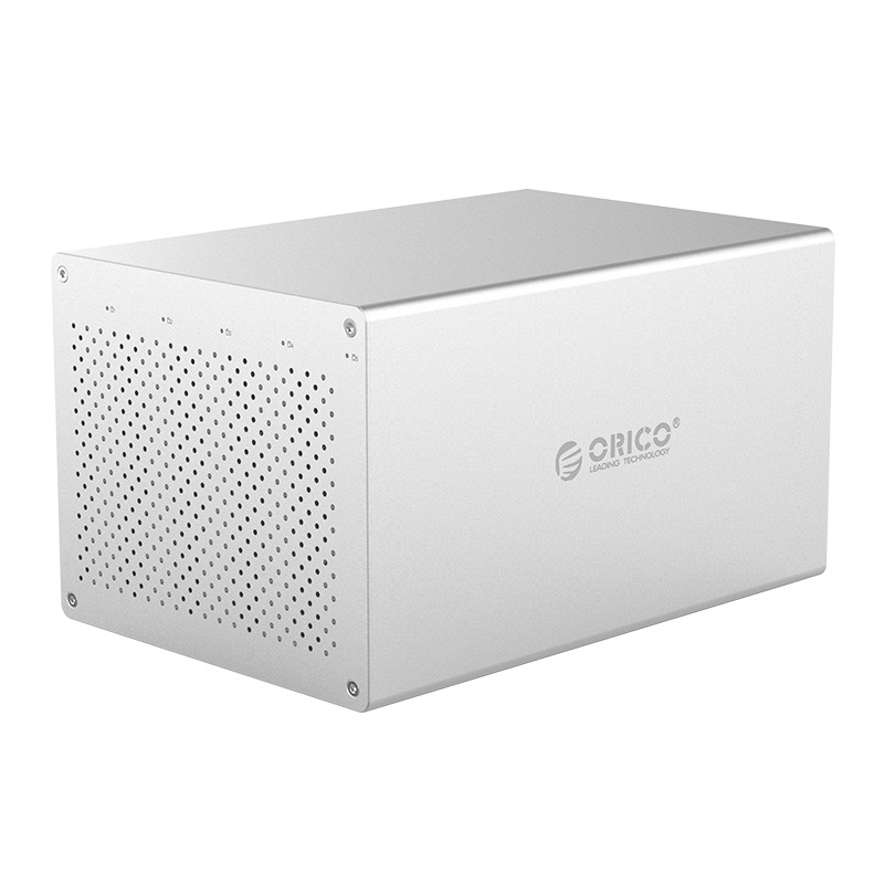 ORICO WS500-RU3 3.5 Inch SATA To USB 3.0 HDD Case Support 10Gbps 5 Bay 10TB Hard Disk Docking Station HDD Hard Drive Enclosure