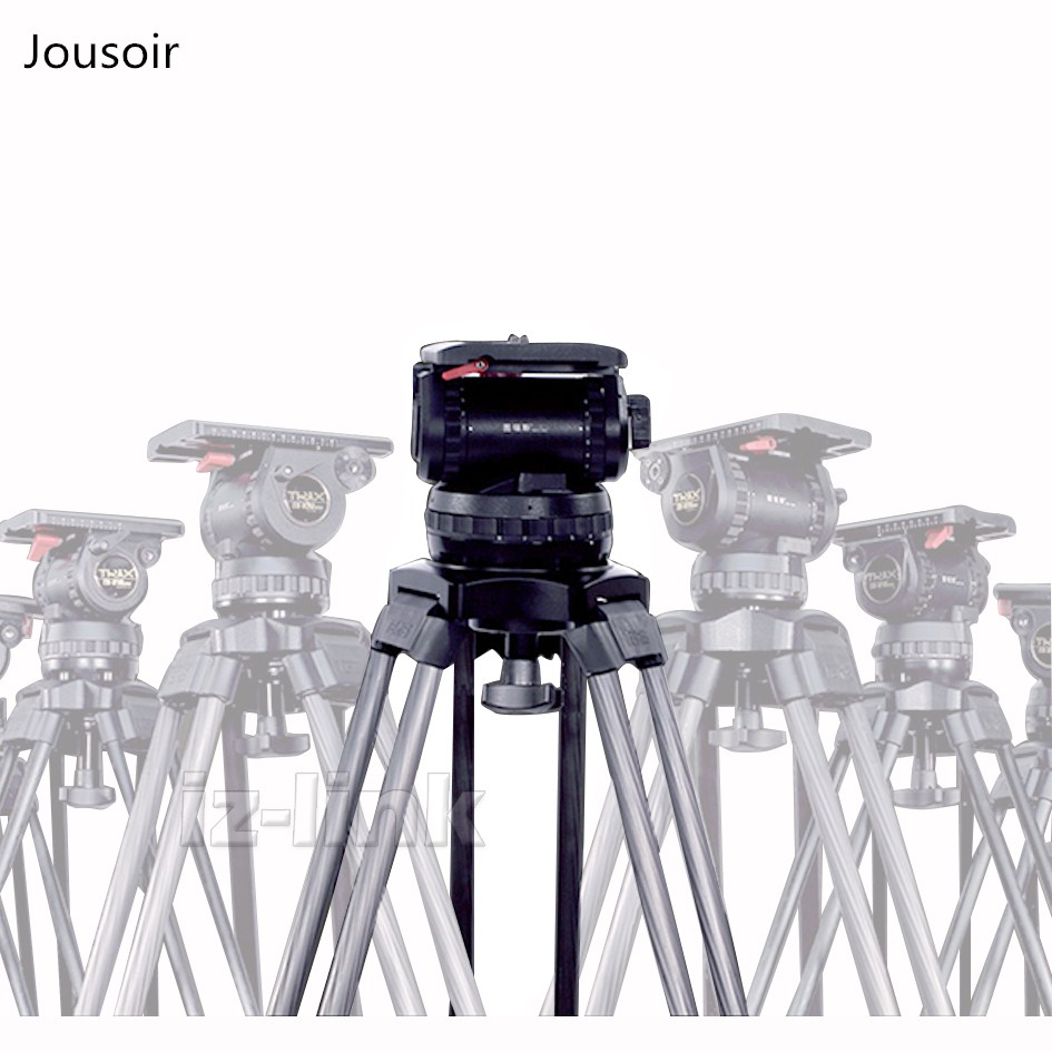 Tripod 66 V8 Video Studio Photo Heavy Carbon Tripod And Head Kit With Soft Bag For Camera Movie Support CD50