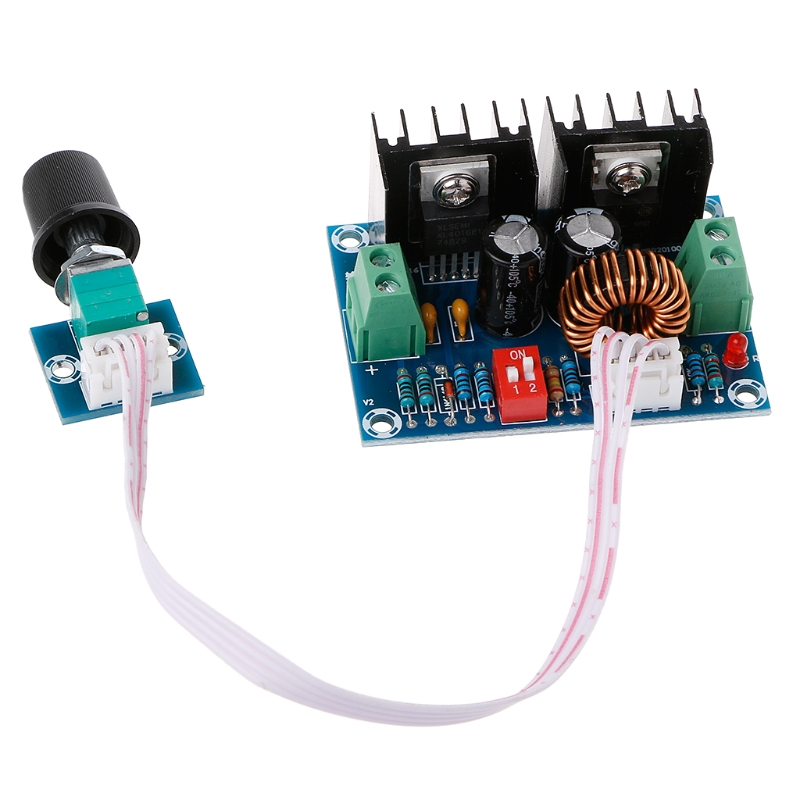 XL4016 DC-DC Buck Converter 200W Voltage Regulator Adjustable Step Down Module diy lm2596 adjustable step down voltage regulator buck converter modul