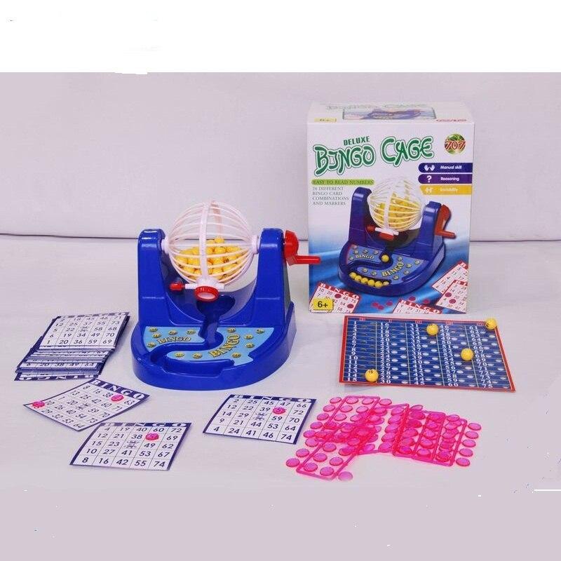 Бесплатная доставка коробка bingo машины 25.5*21*15 см предусмотрена настольная игра лототрон и bingo мяч набор bingo игры ...