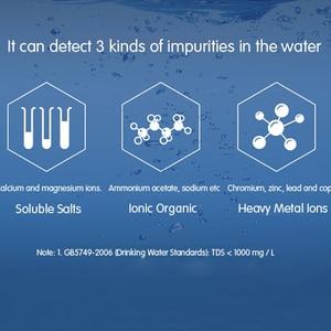 Image 5 - Xiaomi MiJia Mi TDS metre cihazı taşınabilir algılama su saflığı profesyonel ölçüm kalitesi testi PH EC TDS 3 Test cihazı