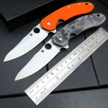 Custom C156 Folding Blade Knife CTS-204P Blade G10 Titanizing Steel Handle Camping Hunting Survival Pocket Tactical Knives Tools