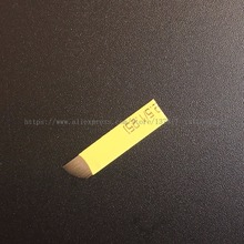 50 PCS 21 Pin 0.18 Mm Permanent Makeup Blade YELLOW Microblading Needles For 3D Embroidery Manual Tattoo Pen
