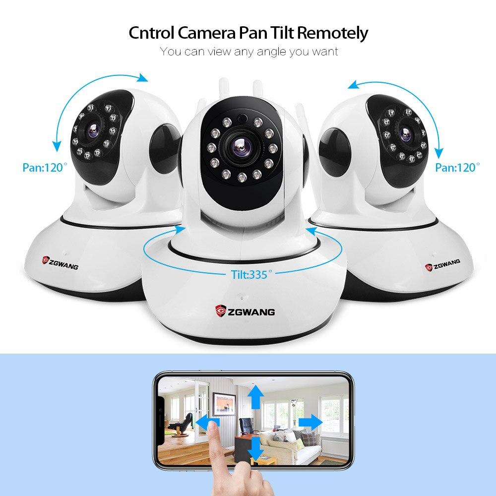 Ασύρματη IP κάμερα ZGWANG X6 Ασύρματη - Ασφάλεια και προστασία - Φωτογραφία 2