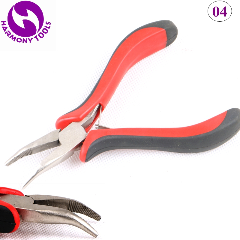 HARMONY 100pcs Micro Ring Hair Pliers For Install And Remove Beads Tubes Links Extensions 01020304050607 In From