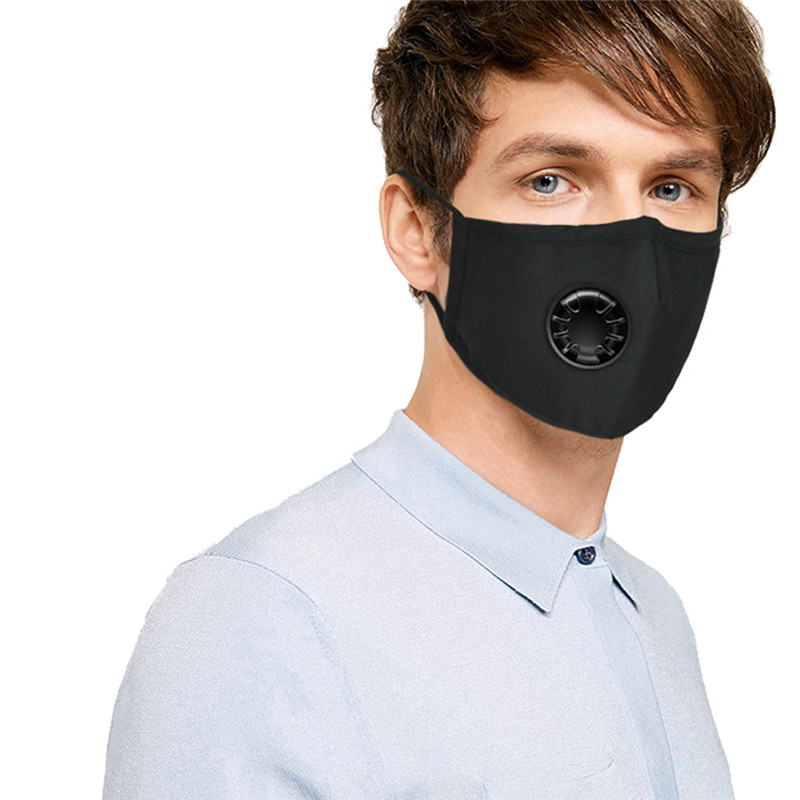 Back To Search Resultsbeauty & Health Masks Non-woven Pm2.5 Anti Haze Mask Breath Valve Anti-dust Mouth Mask Activated Carbon Filter Respirator Mouth-muffle Black Mask Face