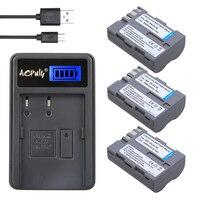AOPULY 3Pcs EN EL3E ENEL3E EN EL3e Camera Battery LCD USB Charger For Nikon D300S D300