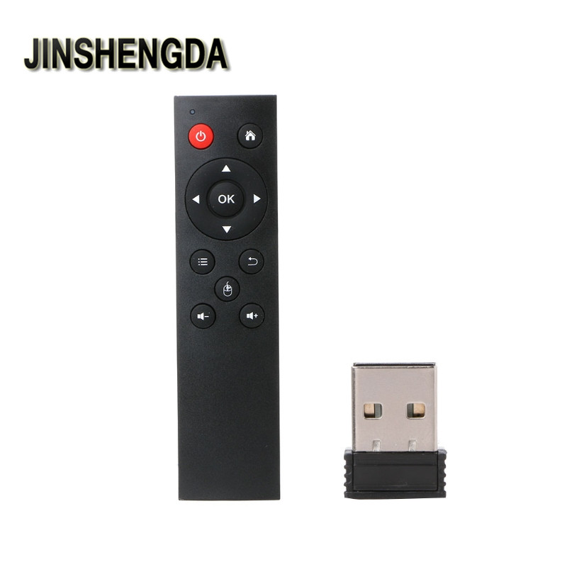 JINSHENGDA Remote Control Universal 2.4G Wireless Air Mouse Keyboard Remote Control For TV Box