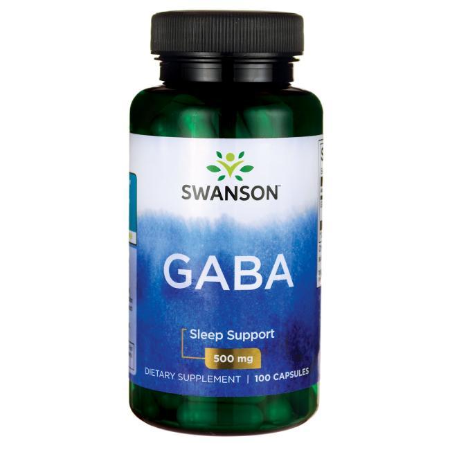 GABA Gamma Aminobutyric Acid 500 Mg 100 Pcs Free Shipping