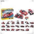 278 peças Modelo de Construção Kits 23 em 1 Building Block bebê Menino Modelo de Construção 5 tijolos Do Brinquedo Bloco Veículo malabarismos N3110