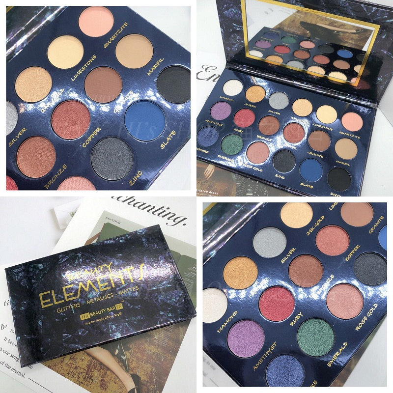 18Color Makeup Eyeshadow Palette Shimmer Matte Glitter EyeShadow Pallete Smoky Pigment Cosmetic