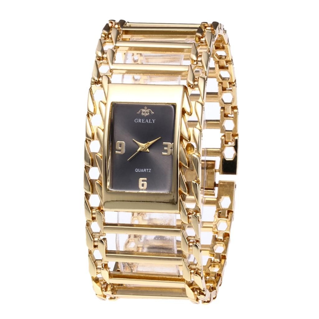 Full Diamond Steel Strip Ms. Quartz Analog Watch Diamond Watch Rose Gold Girls Ladies Hot Sale Flowers Dress Christmas Gift