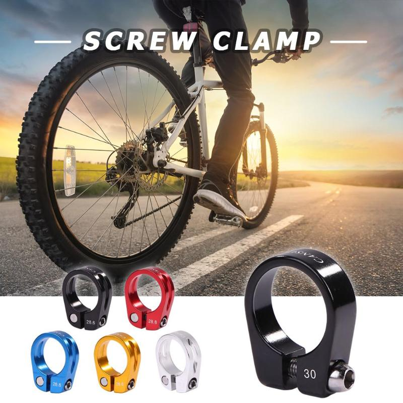 Cycle Bike Bicycle Quick Release Seat Post Clamp Light Weight MTB BMX 25.4-3
