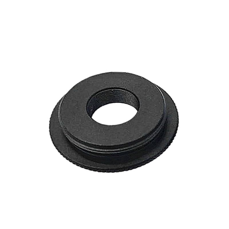 Black Metal M12 to C/CS Mount Board Lens Converter Adapter Ring for AHD SONY CCD TVI CVI Box Camera Support AccessoriesBlack Metal M12 to C/CS Mount Board Lens Converter Adapter Ring for AHD SONY CCD TVI CVI Box Camera Support Accessories