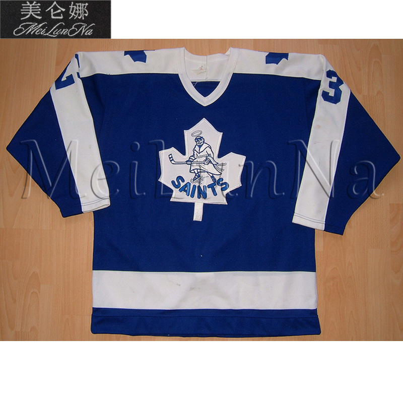MeiLunNa Customize Newmarket Saints Hockey Jerseys Home Road Jim Ralph Domi Bester Reese Melrose Sewn On Any Name NO. Size AMeiLunNa Customize Newmarket Saints Hockey Jerseys Home Road Jim Ralph Domi Bester Reese Melrose Sewn On Any Name NO. Size A