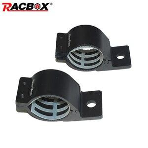 Image 1 - 49 мм 81 мм универсальные кронштейны для бампера для крепления Светодиодный прожектор рабочий свет внедорожный светодиодный свет бар ATV УАЗ