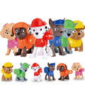 6pcs/lot Patrulla Canina Toys Puppy Patrol Model Children Toy For Boy Girl pat Patrol Car Style Figure pat patrouille