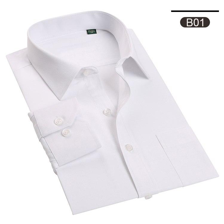 Aus Dem Ausland Importiert Klassische Schwarz Weiß Hit Farbe Hemd Männer 2018 Marke Stehkragen Slim Fit Langarm Männer Kleid Shirts Gentleman Smoking Camisa Herrenbekleidung & Zubehör Legere Hemden