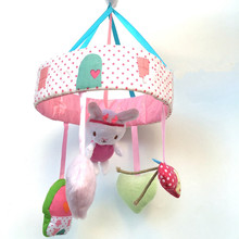 Baby Crib Musical Mobile Cot Bell Music Box with Holder Arm Baby Bed Hanging Rattle Toys Baby Nursery Plush Cot / Crib Toy