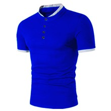 ZOGAA Brand Polos Mens 2018 New POLO Shirts Cotton Short Sleeve Solid All Size Color Casual Polo Shirt Men Anti-shrink