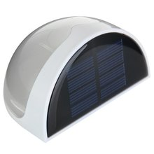 6 LED Solar Power Panel Wall Light