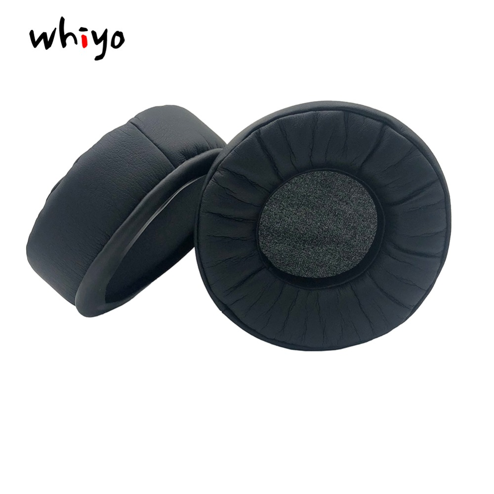 1 Pair Of Leather Replacement Ear Pads Pillow Earpads Foam Cushion Cover For Philips SHP1900 SHP8000 Isk960b Headset Earphone