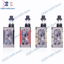 e-cigarettes Vape kit electronic cigarette jisld 80W box mod kit Huge Vapor 2200mah bulit-in battery Mech Box vape pen vs m6 10 100w box mod electronic cigarette vape kit 2200mah build in battery 3 5ml 0 3ohm atomizer tank e cigarette vaper pen mech mod
