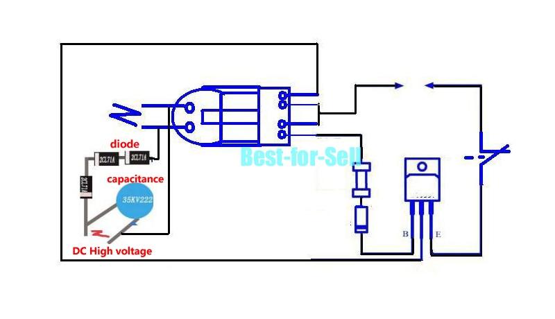 Details zu 3.7V 15KV High Voltage Inverter Generator arc Cigarette on
