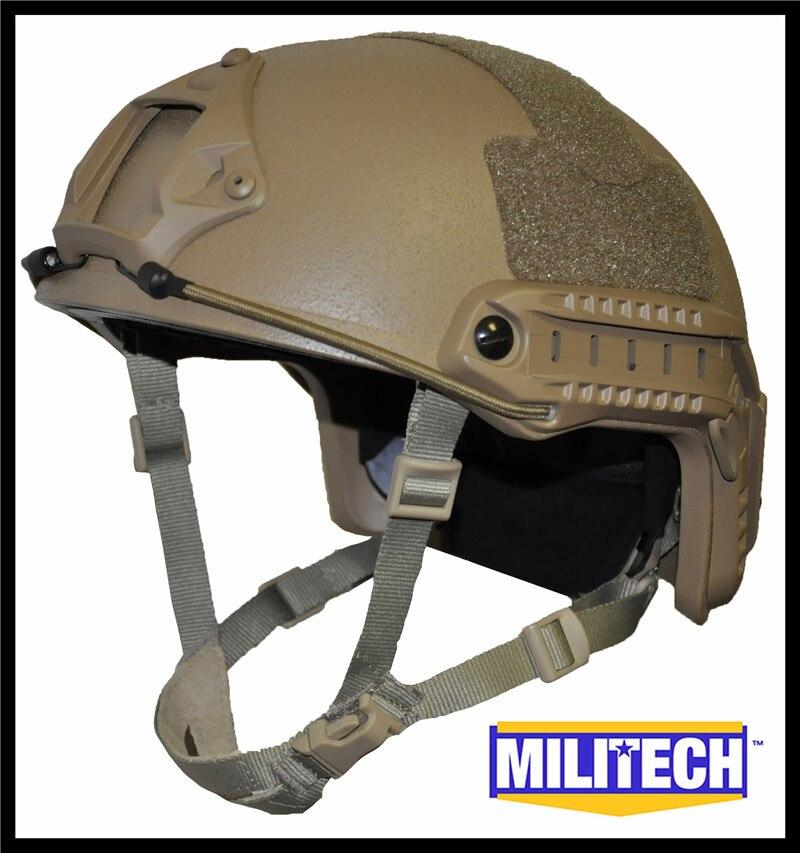 ISO Certified MILITECH CB OCC Dial NIJ Level IIIA 3A FAST High Cut Bulletproof Kevlar Ballistic Helmet With 5 Years Warranty militech black occ dial nij level iiia 3a fast high cut ballistic bulletproof tactical helmet with 5 years warranty devgru seal