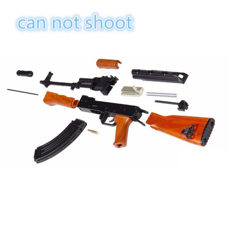 1: 3.5 İsti Satış AK47 metal oyuncaq silah modeli Toy Guns snayper - Uşaq konstruktorları - Fotoqrafiya 2
